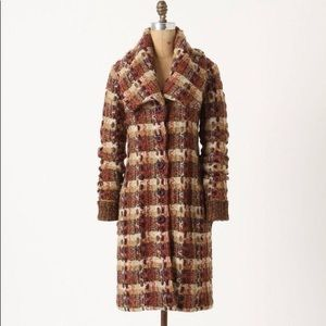 Anthropologie Jackets & Coats - Anthropologie Charlie robin marled sweater coat